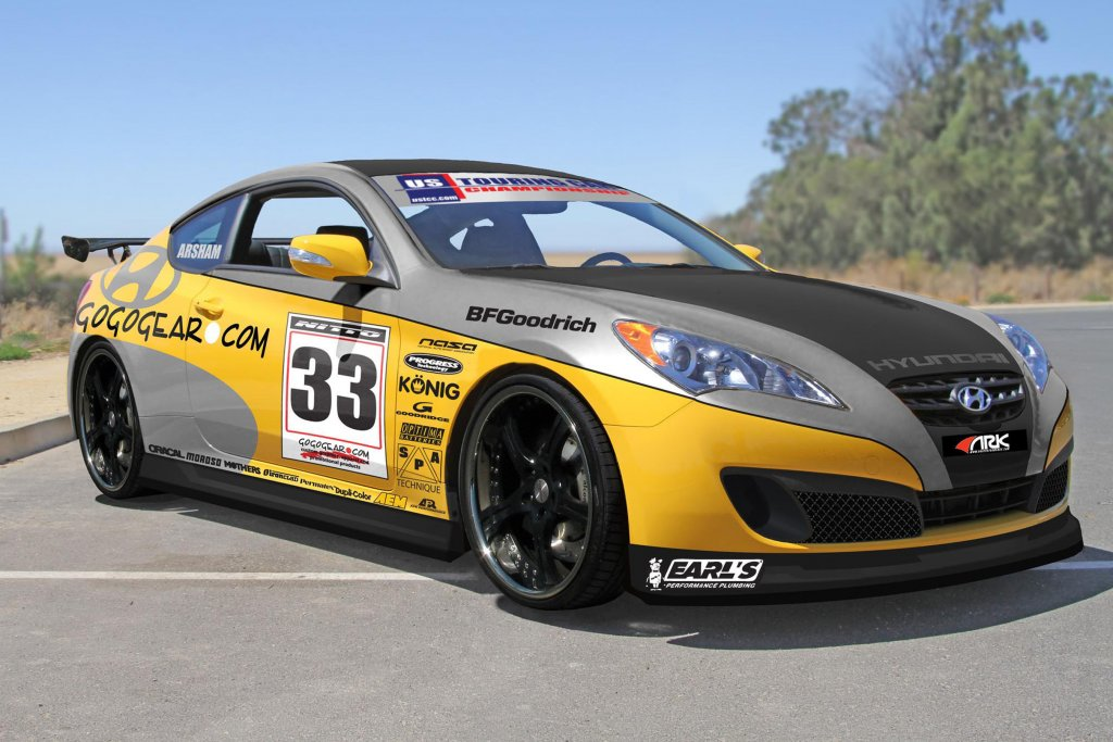 The Gogogear Racing Genesis Coupe emphasizes racing reliability and high-end performance capabilities.