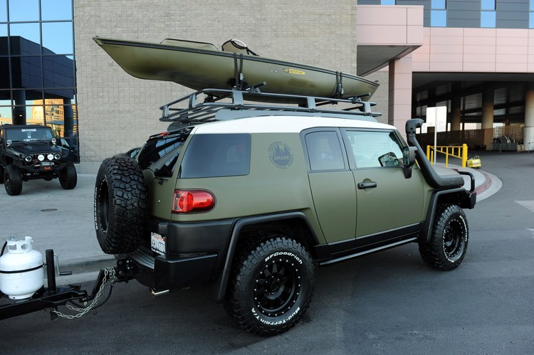 Adventure series vehicles support national parks.