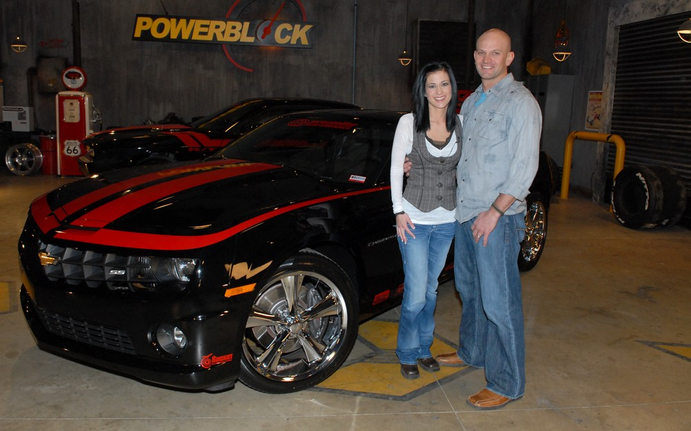 National Guardsman chooses Chevy in Modern Muscle X sweepstakes.