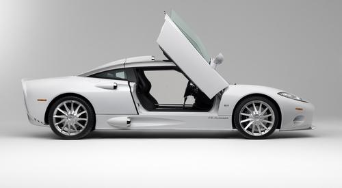 C8 Aileron debuts at the Calgary Auto Show.