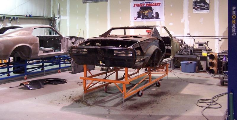 GRAVEROBBERS' restorations tackle all types of sheet metal work.