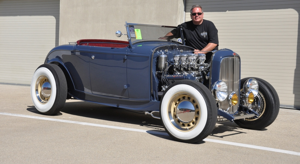 Title goes to Mike Tarquinio's '32 Ford Roadster.