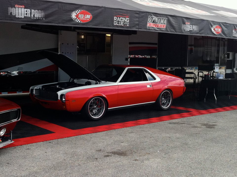Centerforce hosts Pro Touring AMX at SEMA.