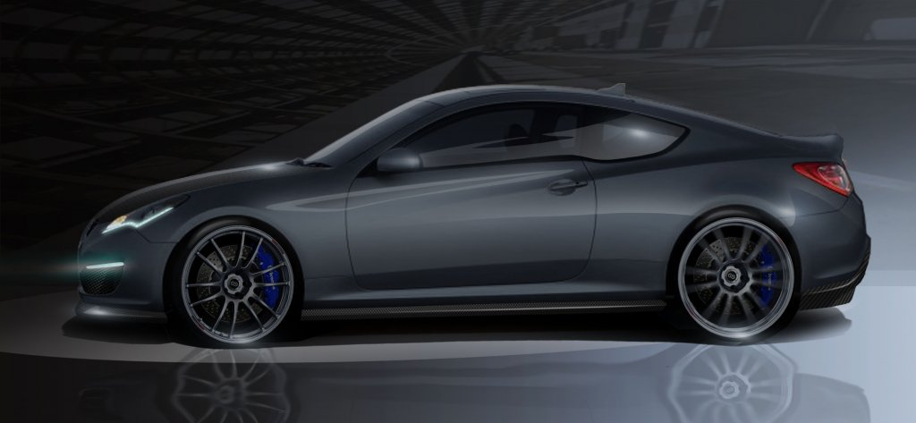HATCI and Magnuson supercharge a Hyundai Genesis Coupe for SEMA.