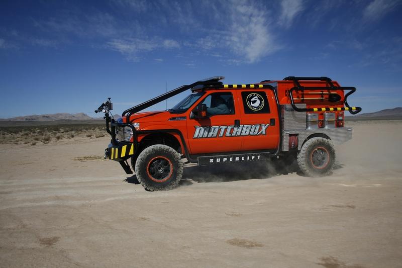 Superlift/Ford/Mattel Matchbox F-350 wins industry award.