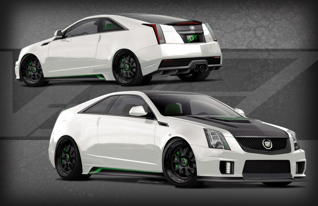 D3 & GM launch a Special Edition 2012 CTS-V Coupe.