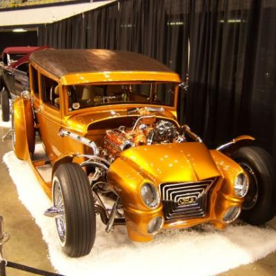 Several indoor car shows will be held this weekend featuring rods, roadsters and customs.