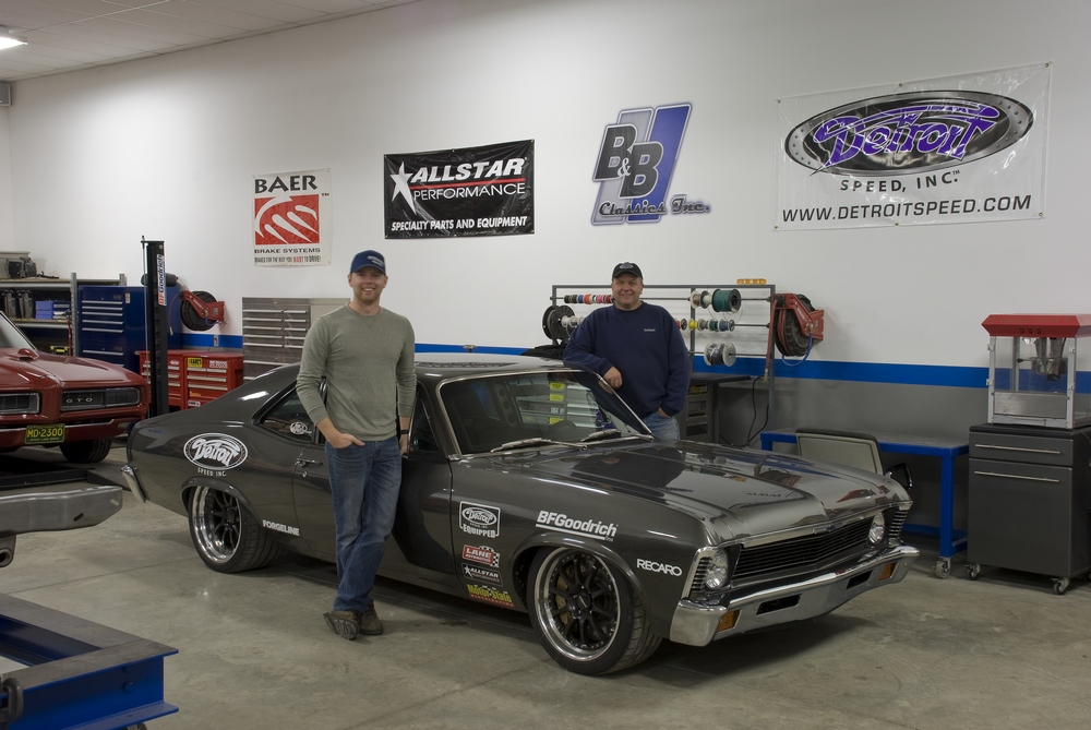 Father and son fabricators Bill and Billy Utley build Pro Touring gems in Detroit.