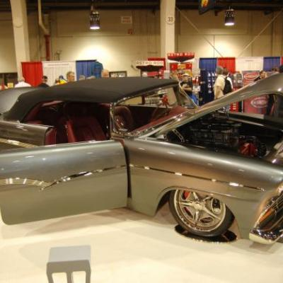 The 1956 Ford convertible 'Suncammer,' built by Steve Cook Creations of Oklahoma City, took home the Ridler Award at the 2011 Detroit Autorama. A new Ridler winner will be crowned this weekend.