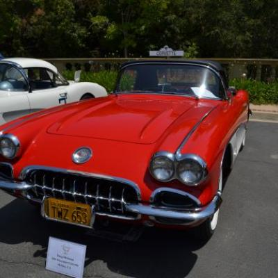 Corvettes will be the centerpiece of two of the car shows being held this weekend.