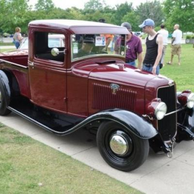 This 1934 Ford pickup built by the Hot Rod Garage and owned by George Poteet was named the 2011 Truck of the Year Early. Goodguys will be selecting finalists for this and other top awards this weekend at the 20th Lone Star Nationals.