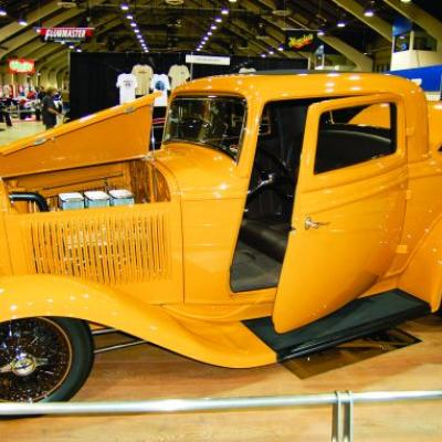 This 1932 Ford three-window coupe built by Dave Lane won the Crème de la Chrome Award at last year's Rocky Mountain Auto Show. A new winner will be crowned this weekend.