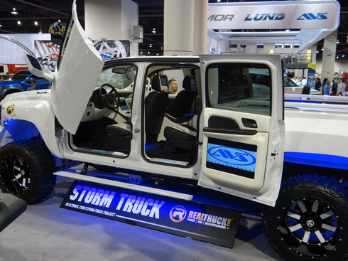 Restyling captures vendor highlights at SEMA Show