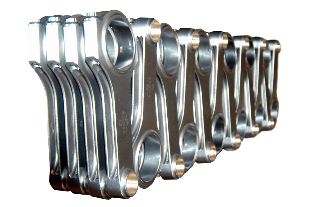 Strength and adaptability help drive the connecting rod market.