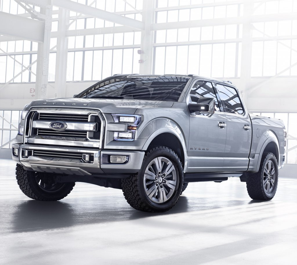 Introducing the future of Ford pickups.