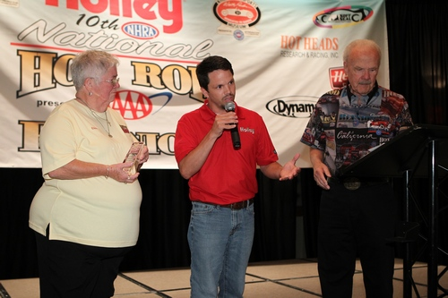 Talkin' with the director of marketing for Holley Performance Products.