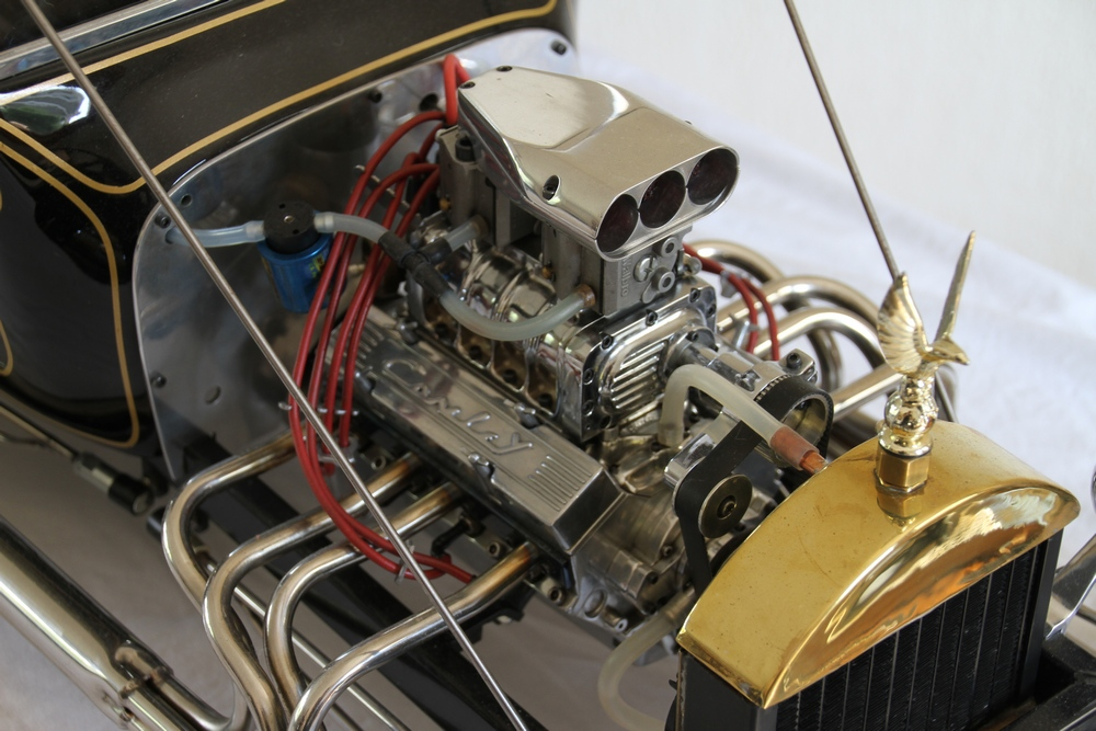 When the smoke cleared, Gary Conley had built a viable quarter-scale V-8 engine.