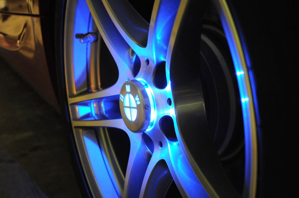 BMW Wheel light