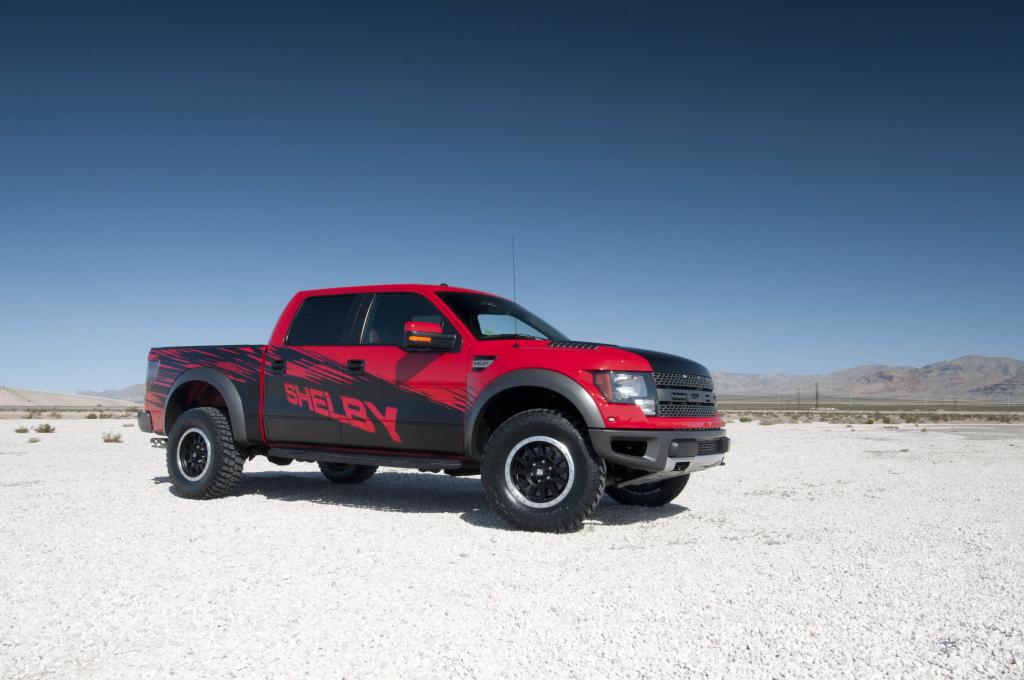 The Mustang legend's latest take on a Ford 'muscle truck.'