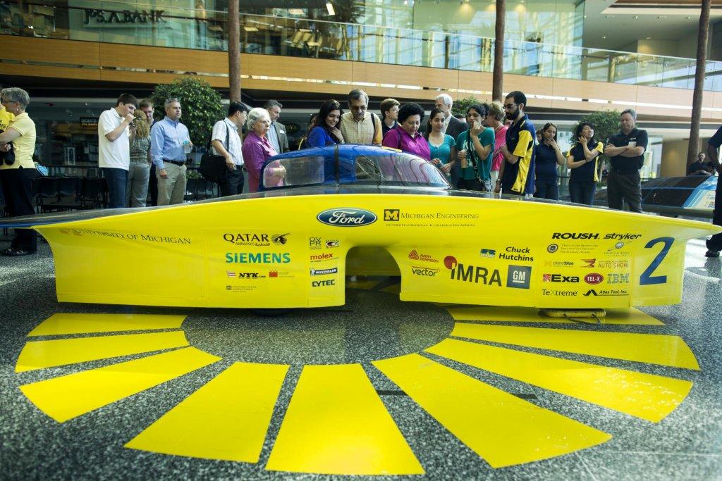 UM Solar Car Generation Avery Dennison