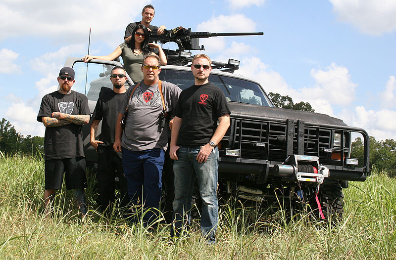Superlift outfits 'Sons of Guns' trucks.