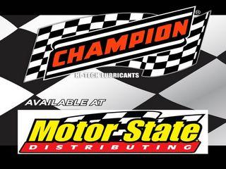Motor State Distributes Champion Oil