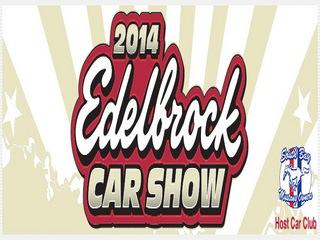 edelbrock car show logo