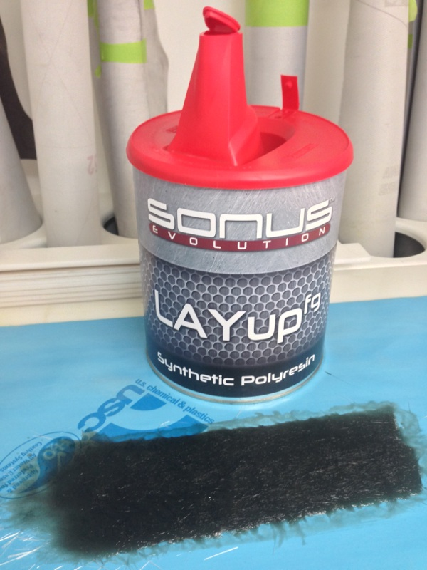 The Evolution LayupFG material by Sonus Car Audio.