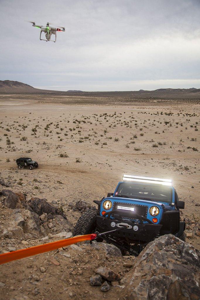 David Beran drone-jeep-4wd