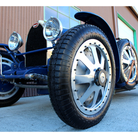 Pur Sang race car with Excelsior Comp H tires by Coker Group