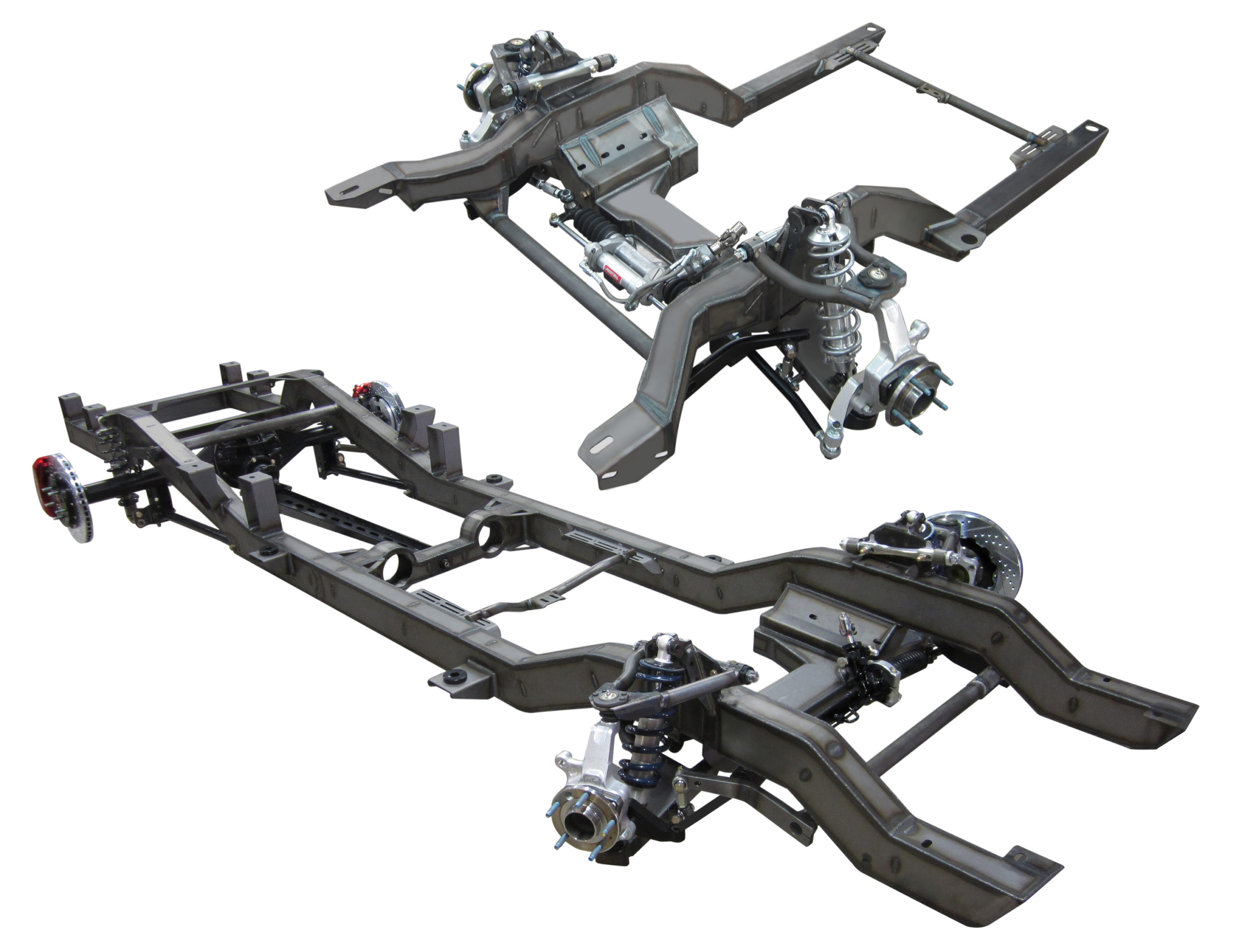 Speedtech Performance ExtReme chassis and subframe suspension systems for for Camaros, Novas, C10 trucks