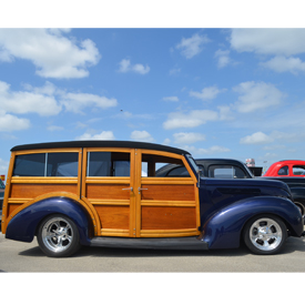 Classic Woody seen at the 2016 Hot Rod Power Tour