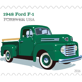 1948 Ford F-1 stamp