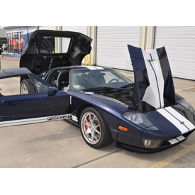 This 2004 Ford GT Prototype sold for $836,000 at Russo and Steele's Monterey, California auction, according to the company