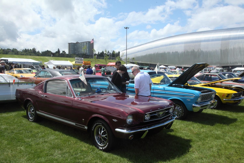 America's Car Museum's car show