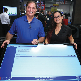 Donny Seyfer (left) and Bogi Lateiner will lead MAHLE Service Solutions demos at the Nov. 1-3 AAPEX Show in Las Vegas