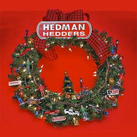 The Hedman Headers Gearhead Holiday Wreath