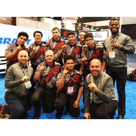 Team Vibrant from C. D. Hylton High School in Woodbridge, Virginia came in first place with an average time of 19:18 2016 during