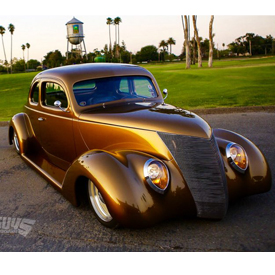 1937 Ford owned by Dan Wathor, from Rio Linda, California, captured Goodguys 2016 Flowmaster America's Most Beautiful Street Rod
