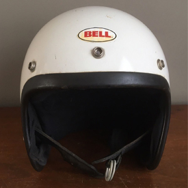 Bell-Toptex racing helmet from the 1970s