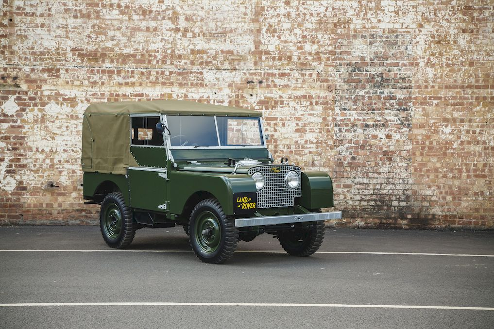 Restored Series I Land Rover