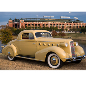 Concours d'Elegance of Texas is set to take place in Richard Greene Linear Park in the Arlington Entertainment District