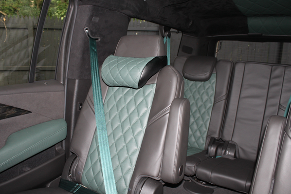 SeatbeltPlanet.com provided the custom seat belts in Jason Durulo's Cadillac Escalade that appeared on Unique Rides on the Veloc