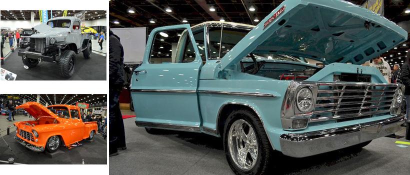 Trucks at the 68th Detroit Autorama