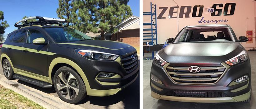 Fearone's Hyundai Tucson Urbana had a successful run at the 2016 SEMA Show