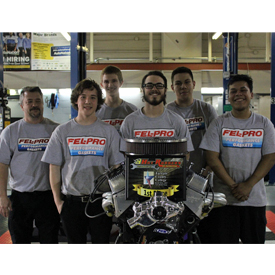 The first place finisher was Team FEL-PRO from Tulsa Technology Center in Broken Arrow, Oklahoma. The team's qualifying time was