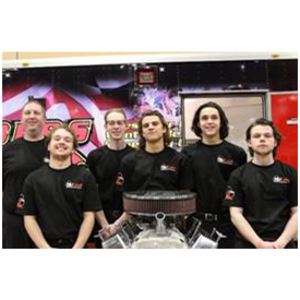 Team McLeod from Fremd High School in Palatine, Illinois notched the first place time at the first Hot Rodders of Tomorrow quali