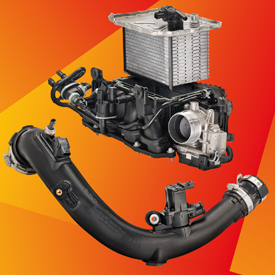 BASF is introducing its heat-resistant polyamide Ultramid Endure in two new powertrain applications on the 2017 Alfa Romeo Giuli