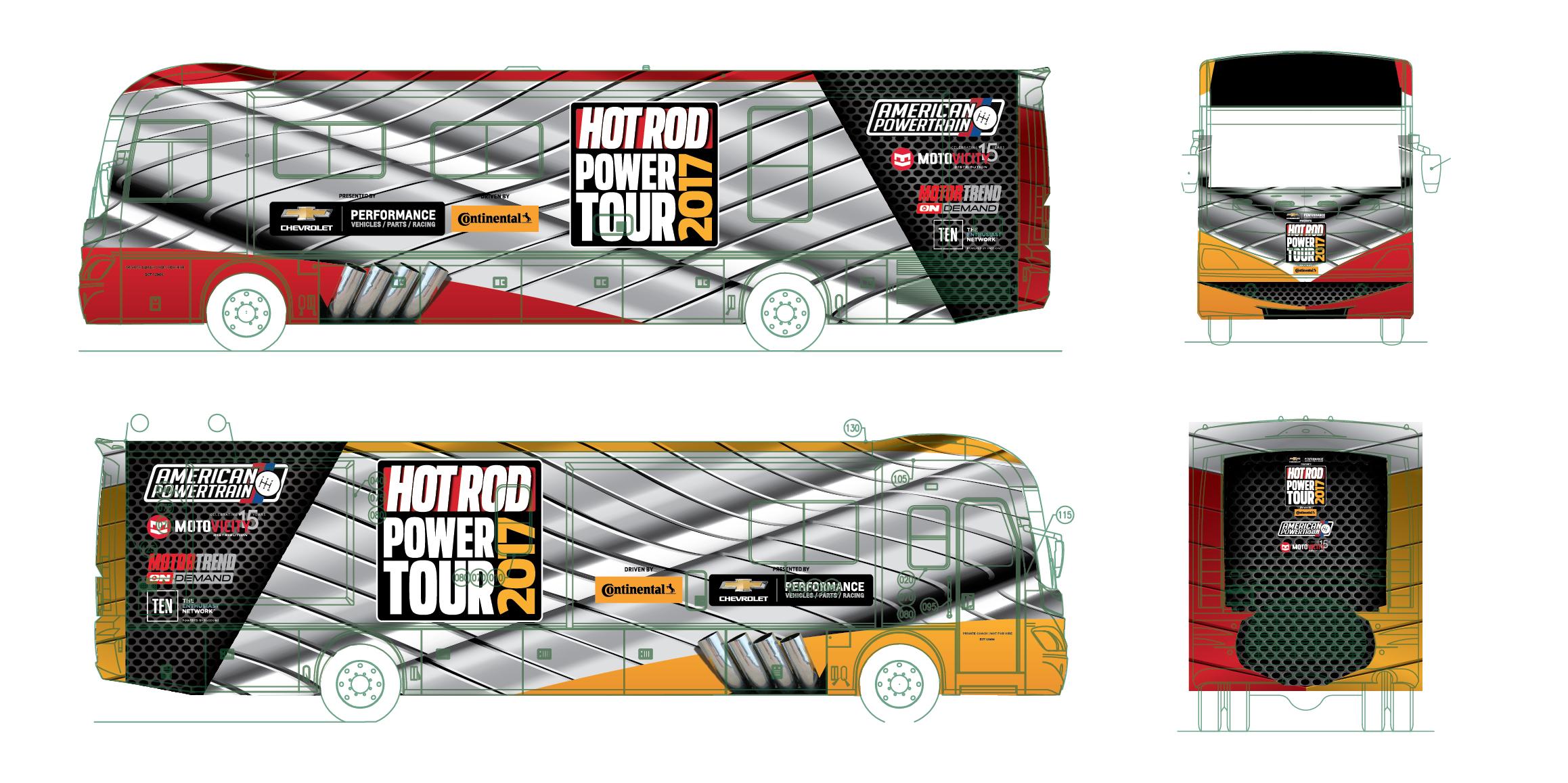 Power Tour Bus Schematic