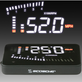 HeadsUp OBDII Add-on LED Display by Scosche